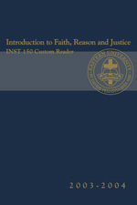 Introduction to Faith, Reason and Justice