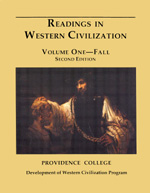 Readings in Western Civilization, Volume One, Fall, Second Edition
