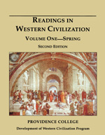 Readings in Western Civilization, Volume One, Spring